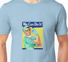 Rosie the Riveter Medical or Surgical Doctor  Unisex T-Shirt