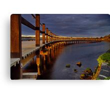 """Walk Over The Water"" Canvas Print"