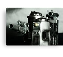 Steampunk Robot Canvas Print