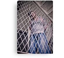 Caged by Earhart Canvas Print