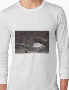 Abstract wood background  Long Sleeve T-Shirt