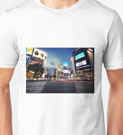 Shibuya Crossing Unisex T-Shirt
