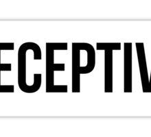 Deceptive - The Original Sticker
