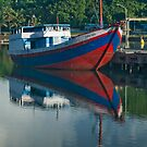 Early Morning in Lembar Harbour 2 by Werner Padarin