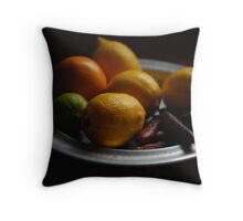 Citrus fruits Throw Pillow