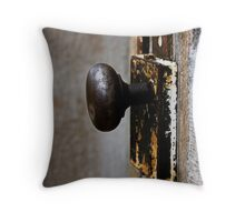 A Opening to the past Throw Pillow