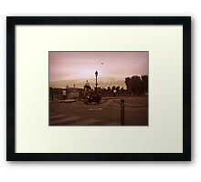 tidal wave cloud Framed Print