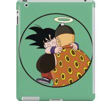 Happy Goku Hugs Grandpa Gohan :3 iPad Case/Skin