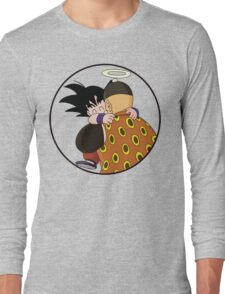 Happy Goku Hugs Grandpa Gohan :3 Long Sleeve T-Shirt