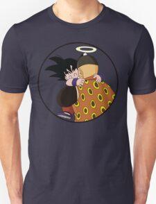 Happy Goku Hugs Grandpa Gohan :3 T-Shirt
