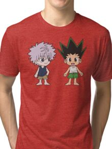 Gon and Killua Tri-blend T-Shirt