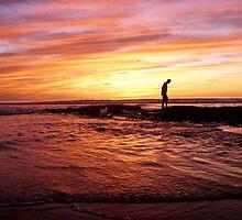 """Rainbow Sunset"" by Tim&Paria Sauls"