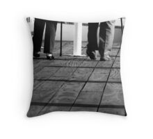 Walking Sticks Throw Pillow