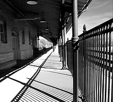 shadows at the station by dbvisualarts
