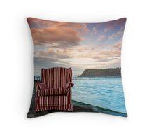 The Sun Is Beginning To Rise Throw Pillow