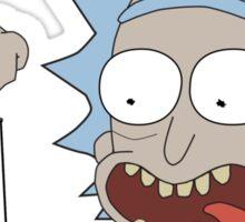 Rick and Morty - Waaaaaaaay Up Your Butt Sticker