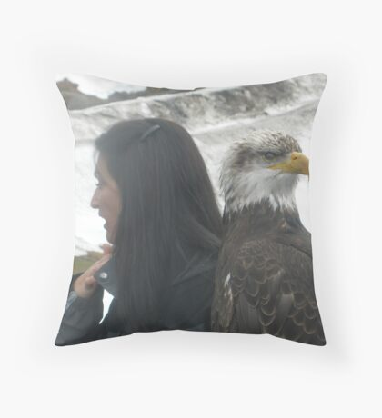 The Argument, Grouse Mountain, Vancouver Throw Pillow
