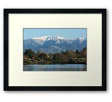 Mount Holdsworth Framed Print