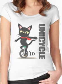 Unicycle Women's Fitted Scoop T-Shirt