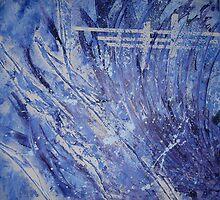 Blue Gate by Claire Waddington