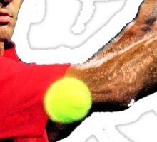 Roger Federer the Legend Sticker