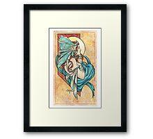 Turquoise Framed Print