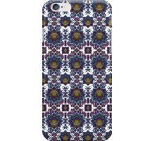 Psychedelic Fractal Manipulation Pattern on White iPhone Case/Skin