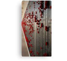 The Fallen - ANZAC's - Canberra - Australia Canvas Print