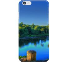 Beautiful Riverfront Retreat View iPhone Case/Skin
