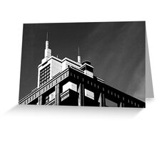gotham city Greeting Card