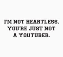 NOT HEARTLESS - YOUTBER by LYRICSPNG