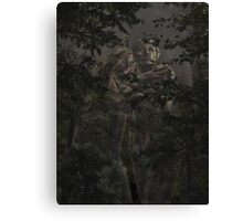 Cast out of the Garden Canvas Print