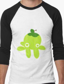 Green Apple Octopus Men's Baseball ¾ T-Shirt