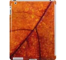 Autumn Maple Leaf Macro iPad Case/Skin