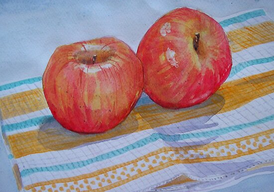An apple a day... How about 2 a day? by nancy salamouny