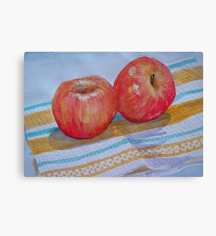 An apple a day... How about 2 a day? Canvas Print