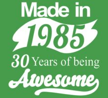 30 Years of Being Awesome Baby Tee