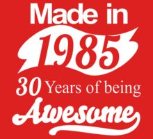 30 Years of Being Awesome Kids Tee