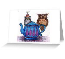 Owl Birthday Greeting Card