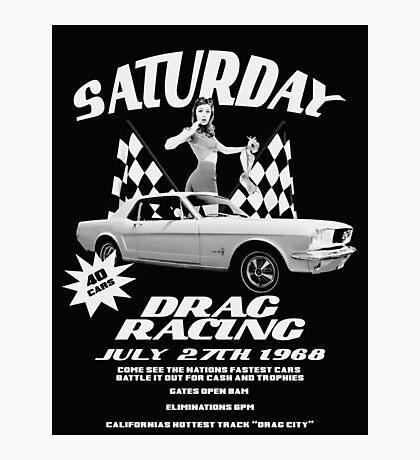 Saturday Night Drags Photographic Print