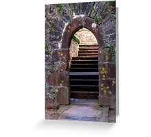 Castle Entrance Greeting Card