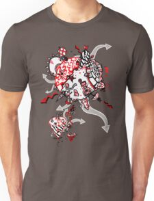 Red Carbon Sands T-Shirt