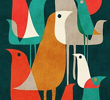Flock of birds by Choma House
