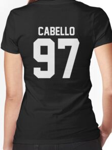 #FIFTHHARMONY, Camila Cabello Women's Fitted V-Neck T-Shirt