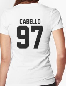 #FIFTHHARMONY, Camila Cabello Womens Fitted T-Shirt
