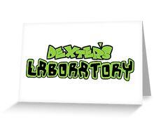Dexter's Laboratory Greeting Card
