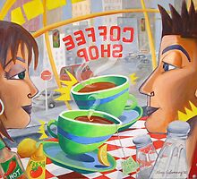 Chemistry at the Coffee Shop by nancy salamouny