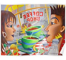 Chemistry at the Coffee Shop Poster