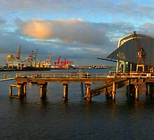 Port Jetty - Fremantle by Paul Fulwood