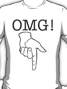 OMG! Naughty Bits (positive) T-Shirt